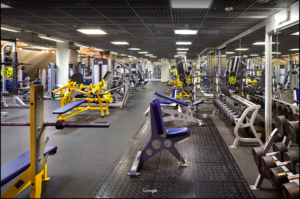 Areas gymfinder moscow
