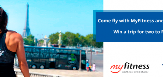 Win a trip for two to Paris with MyFitness and TrainAway