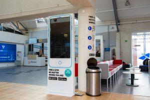 TrainAway in Tallinn Airport, Estonia