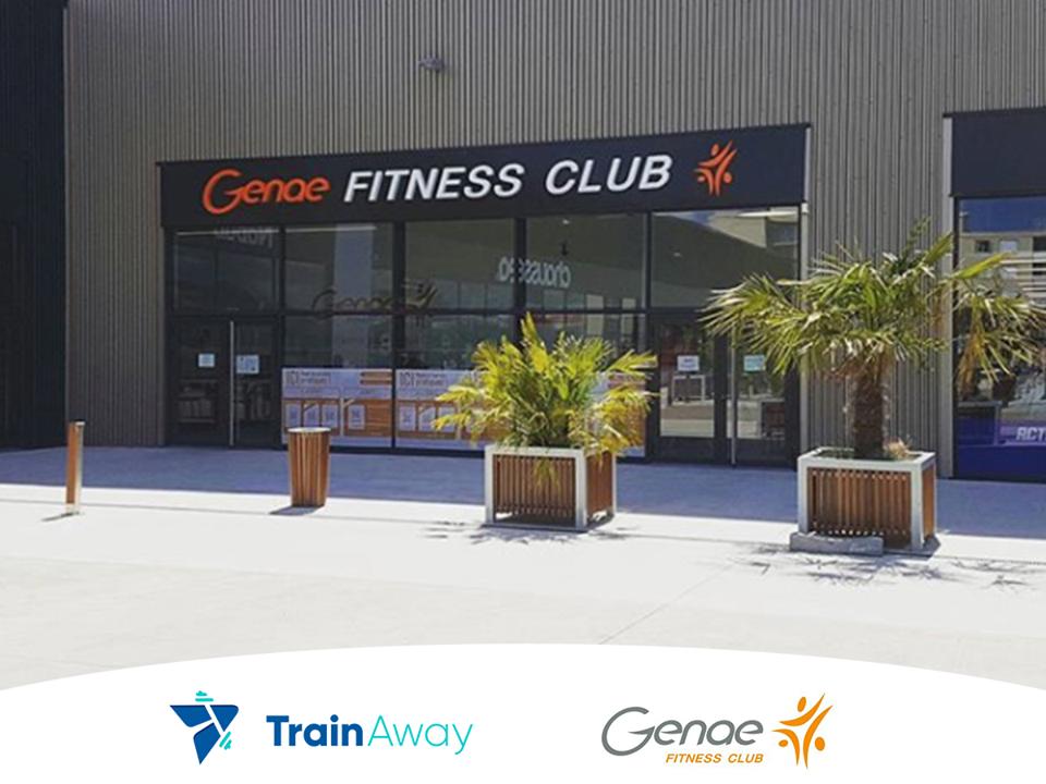 TrainAway partner gym Genae Fitness, France