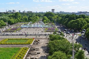 Gyms in Moscow Russia Gorky Park TrainAway