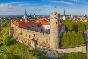 Toompea Castle Tallinn Estonia TrainAway