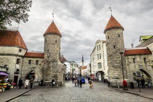 Viru Gate Tallinn Estonia TrainAway