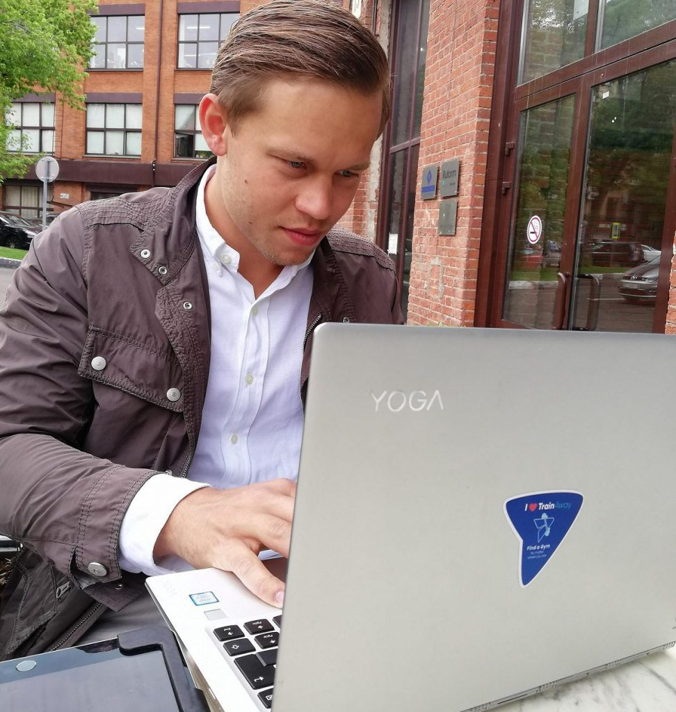 Finding startup funding often means working from anywhere, explains TrainAway founder