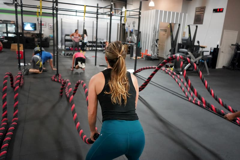 people working out trainaway