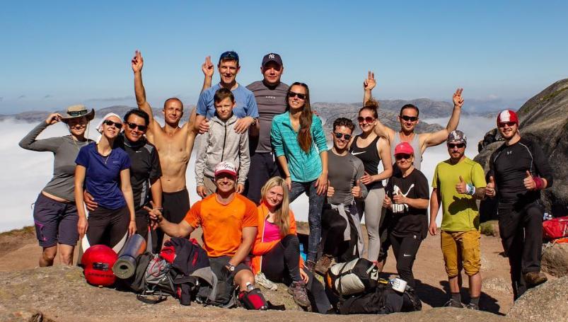 Kristaps Vilde takes people on great fitness journeys