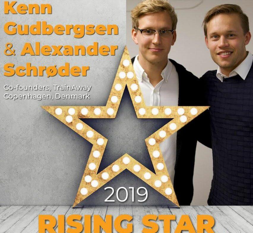 TrainAway founders IHRSA rising stars