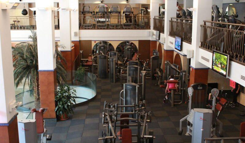 New York gym Astor Place