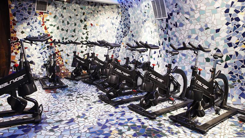 VIDA fitness spinning studio