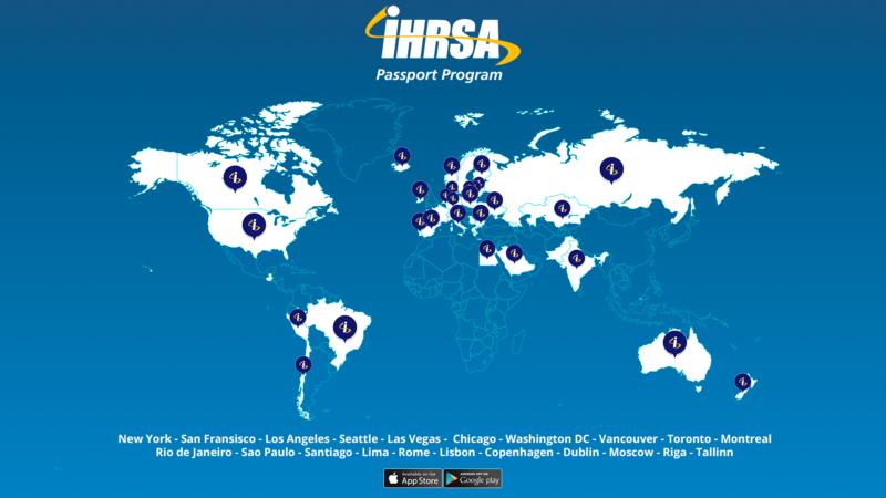 TrainAway IHRSA Map
