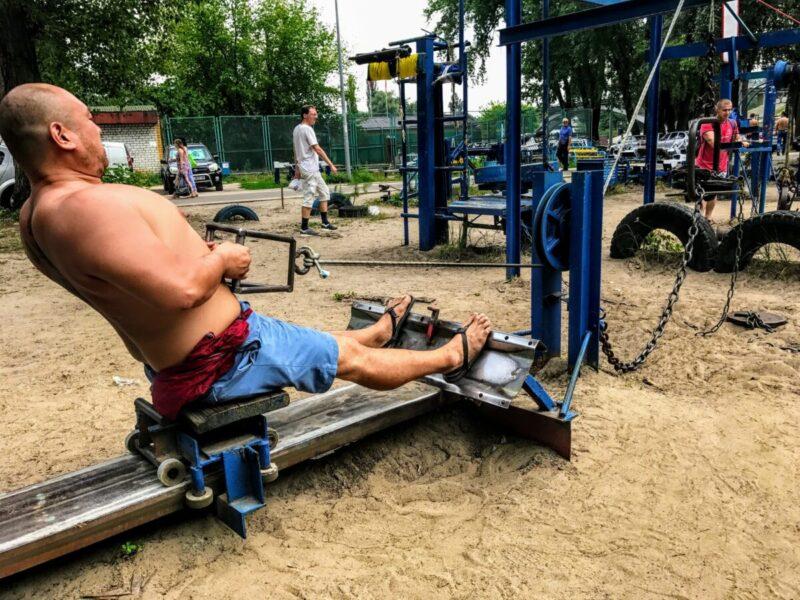 Johnny FD remote gym
