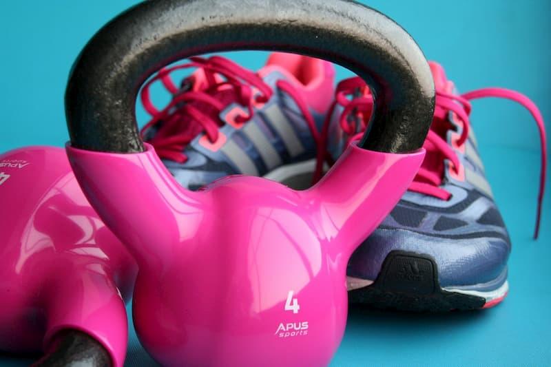 kettlebells & shoes