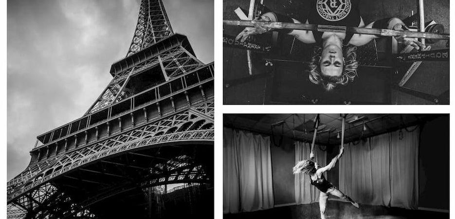 Yoga, bench press, Eiffel
